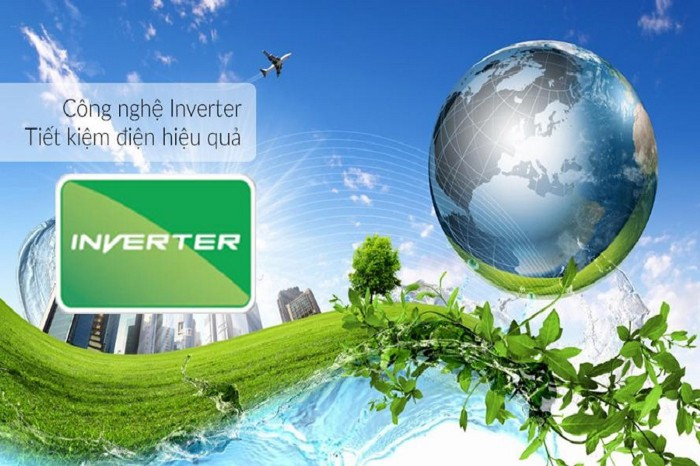 công nghệ Inverter YZ9WKH-8