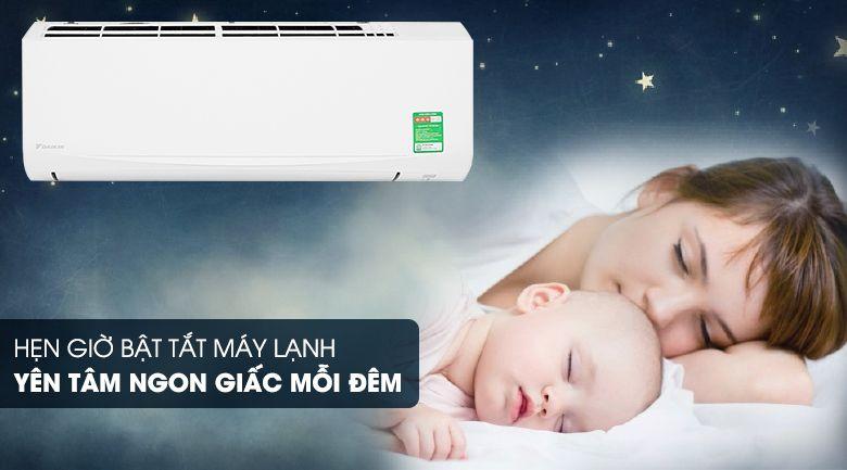 ngủ ngon với độ ồn thấp FTKC50UVMV