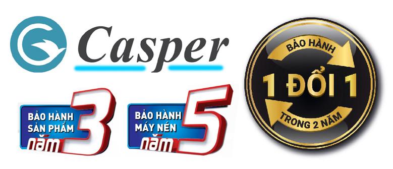 Chính sách bảo hành của điều hòa Casper LC-18FS32