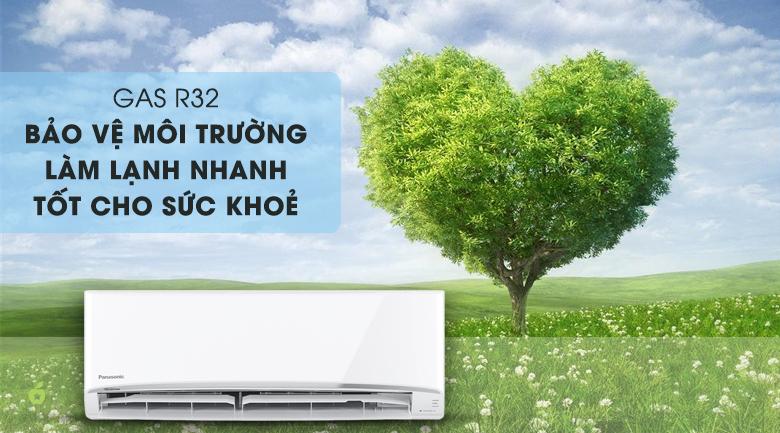 Máy lạnh Panasonic N18VKH-8 sử dụng Gas R32