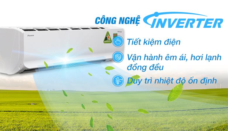 FTKC35UAVMV công nghệ Inverter