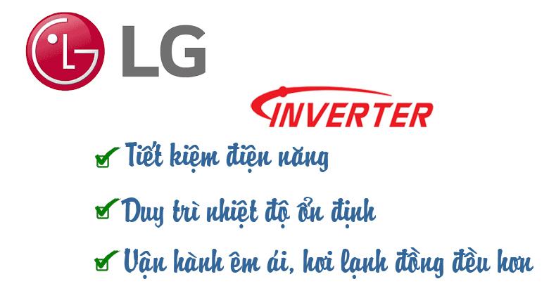 Công nghệ inverter trên chiếc multi LG âm trần 18000BTU AMNQ18GTTA0