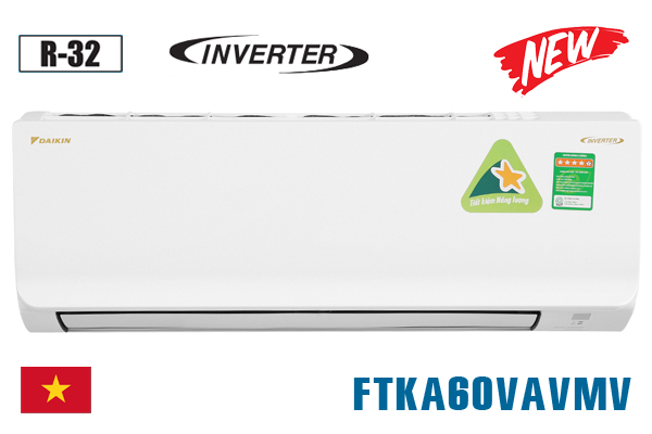 Điều hòa Daikin 21000btu 1 chiều inverter FTKA60VAVMV