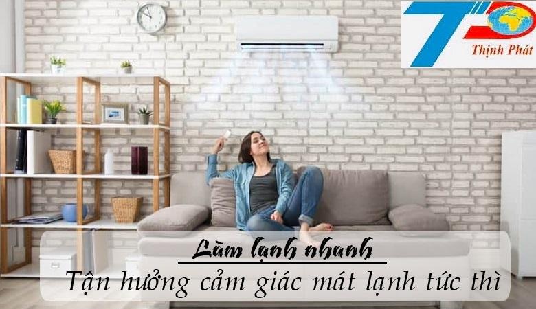 Mặt lạnh điều hòa multi LG AMNW18GSJB0 treo tường 2 chiều inverter 18000BTU