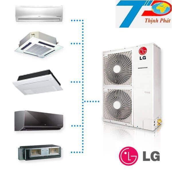 Dàn nóng điều hoà multi LG kết nối tới 5 dàn lạnh
