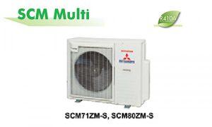 Dàn nóng điều hòa multi Mitsubishi 27000BTU SCM80ZM-S1 2 chiều
