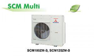Dàn nóng điều hòa multi Mitsubishi 34.000BTU SCM100ZM-S 2 chiều