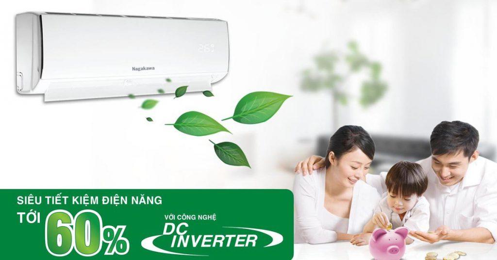 NIS-C09R2H08, công nghệ inverter