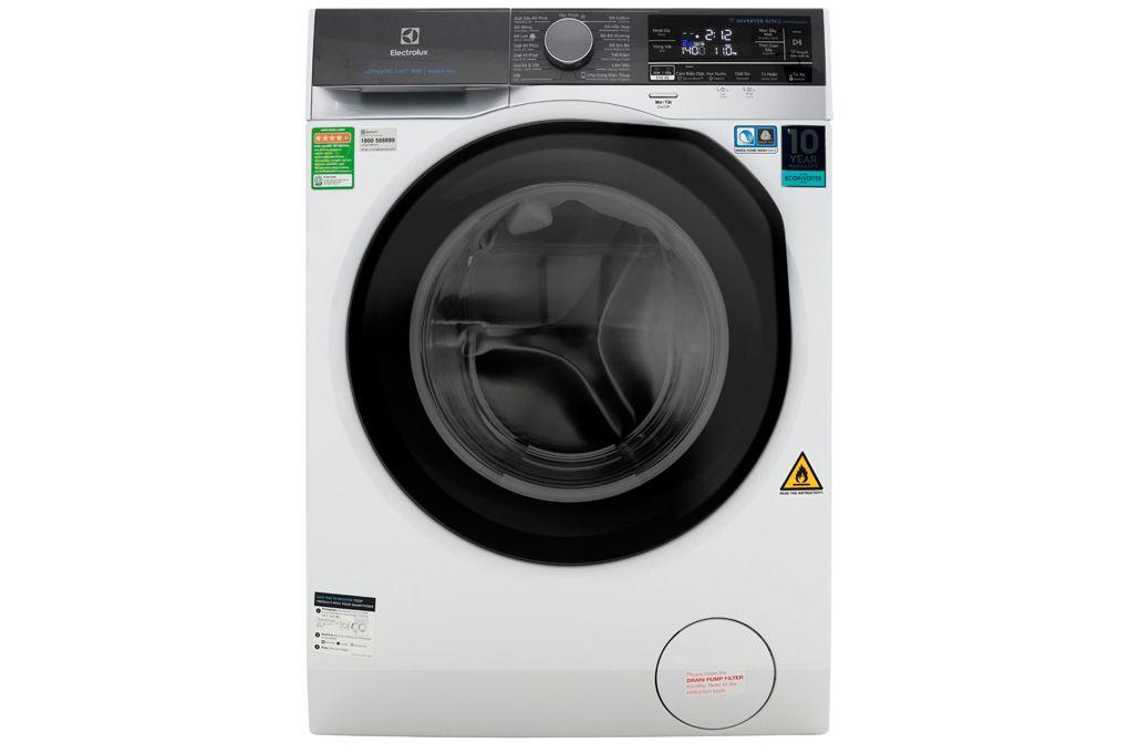Máy giặt sấy Electrolux 10KG Inverter lồng ngang EWW1042AEWA