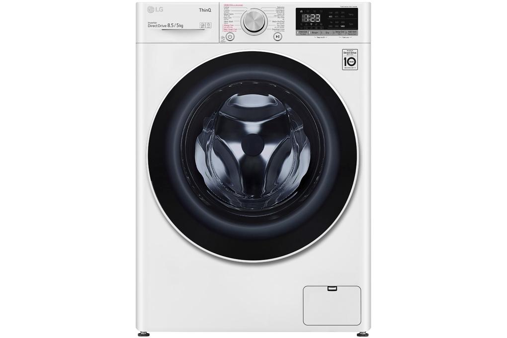 Máy giặt lồng ngang LG Inverter 8.5kg FV1408G4W