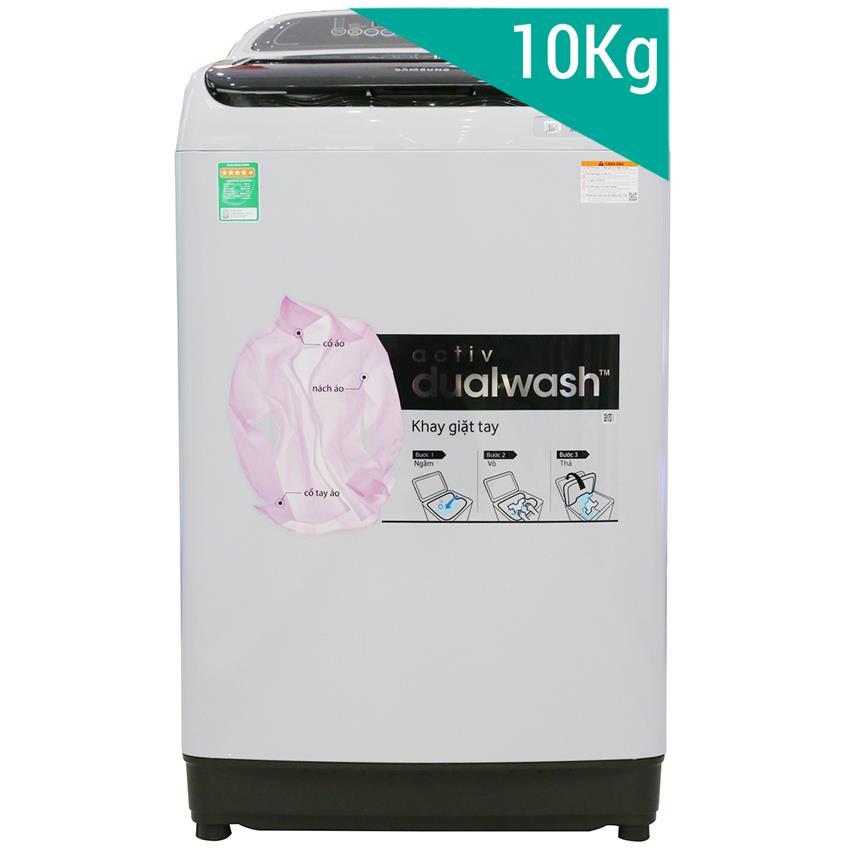 Máy giặt Samsung 10Kg lồng đứngWA10J5750SG/SV
