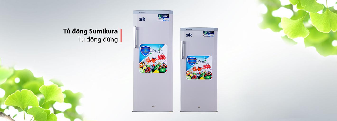 Tủ Đông Đứng Sumikura SKFU-350