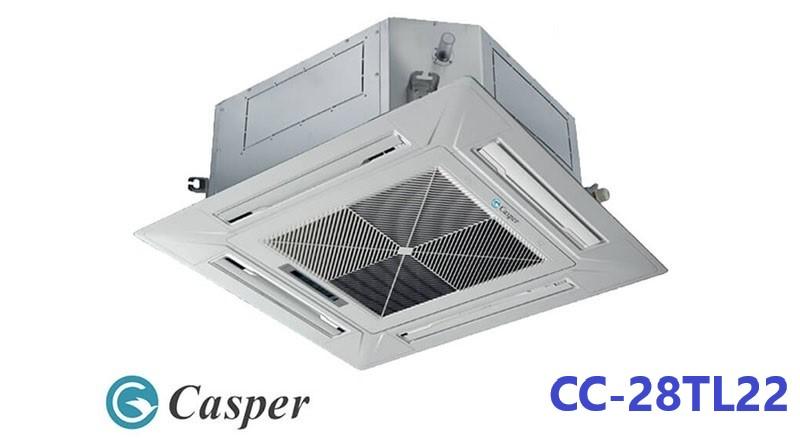 Điều hòa âm trần Casper 1 chiều 28.000BTU CC-28TL22