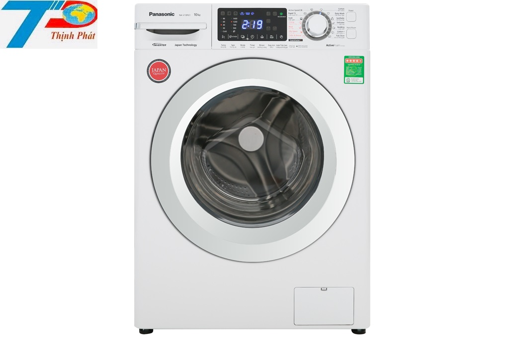 Máy giặt Panasonic NA-V10FG1WVT 10kg inverter lồng ngang