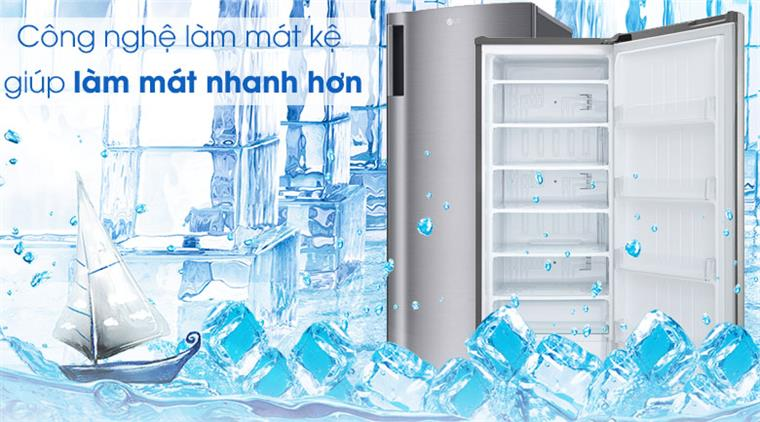 Tủ lạnh LG GN-F304PS inverter 304 lít, công nghệ làm mát kệ