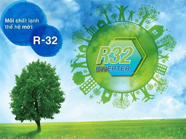Gas R32 thân thiện môi trường