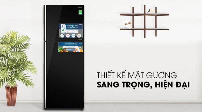 Tủ lạnh Hitachi FG480PGV8 (GBK) thiết kế sang trọng