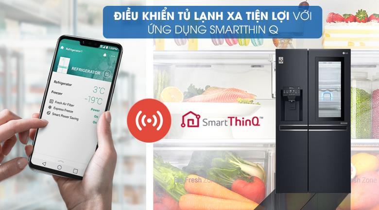 Tủ Lạnh GR-X247MC, điều khiển từ xa bằng điện thoại thông minh