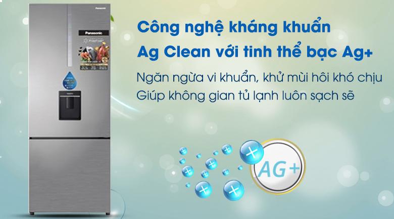 Tủ Lạnh PanasonicNR-BX460WSVNInverter 410 LÍT, kháng khuẩn