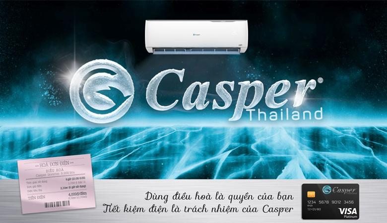 Điều hòa casper IC-12TL32 công nghệ inverter
