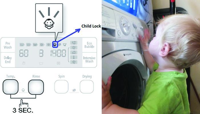 chế độ khoa trẻ em an toàn