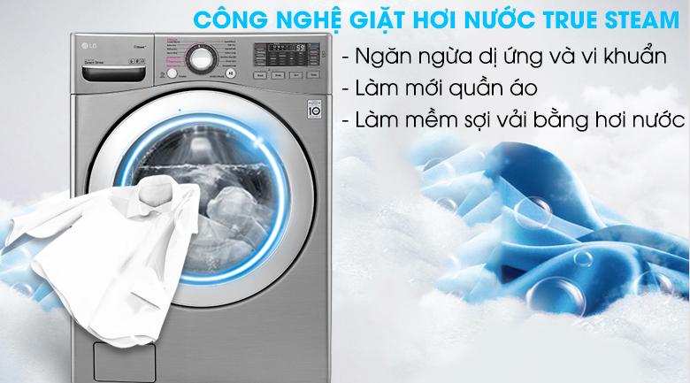 Công nghệ giặt hơi nước True Steam