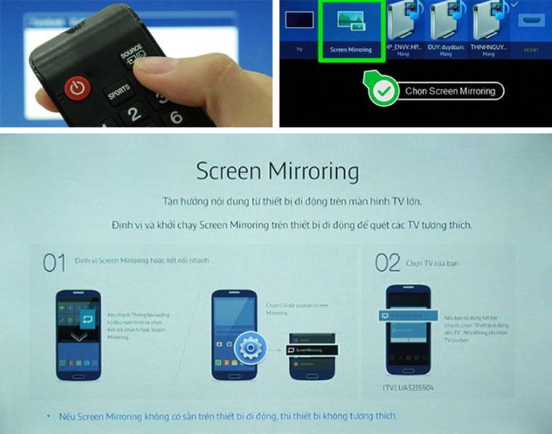 Screen-mirroring