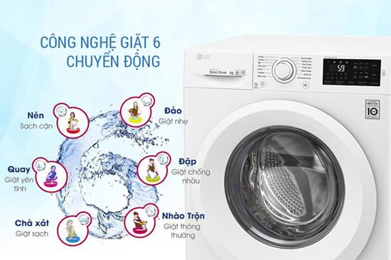 Giặt 6 chuyển động SmartMotion