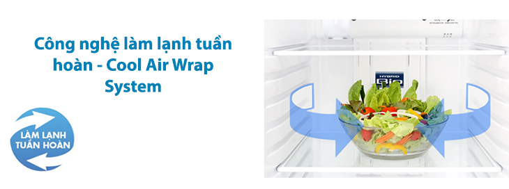 Tủ Lạnh 171 Lít Toshiba GR-A21VPP inverter, làm lạnh nhanh