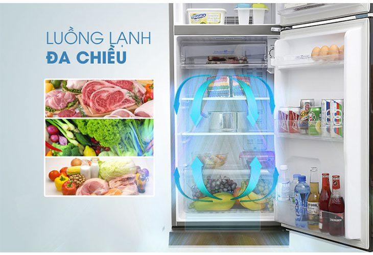 Làm lạnh nhanh, Tủ lạnh Toshiba GR-B22VP-SS