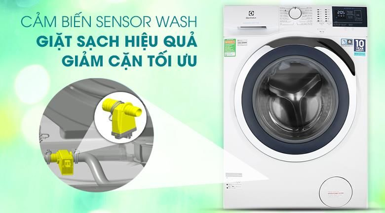 sensor wash