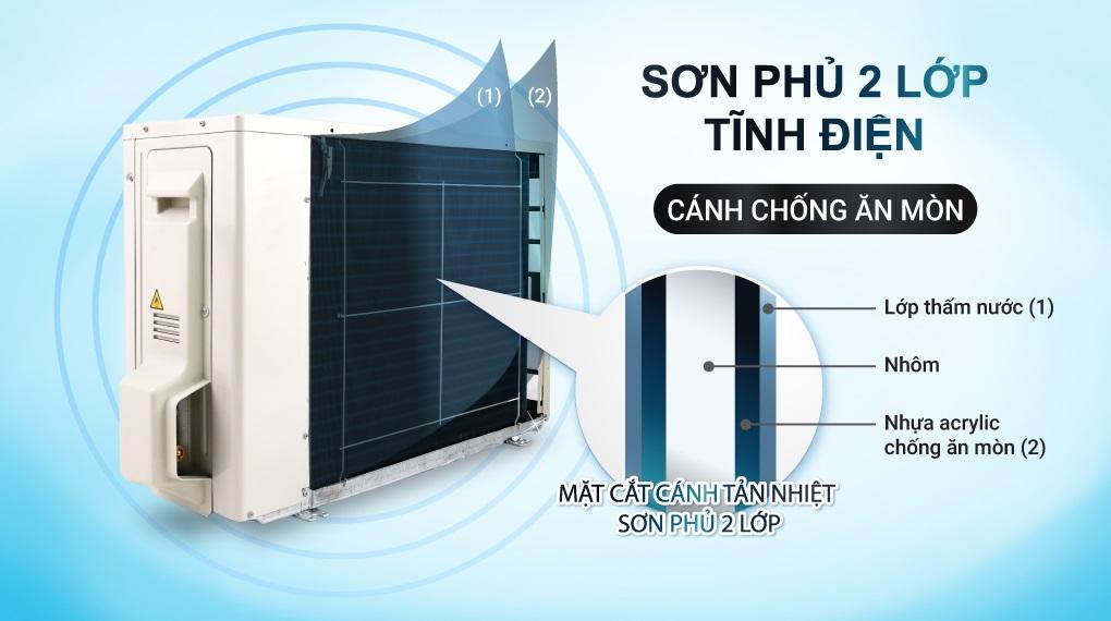 Dàn nóng điều hòa Daikin FTKA35VAVMV độ bền cao