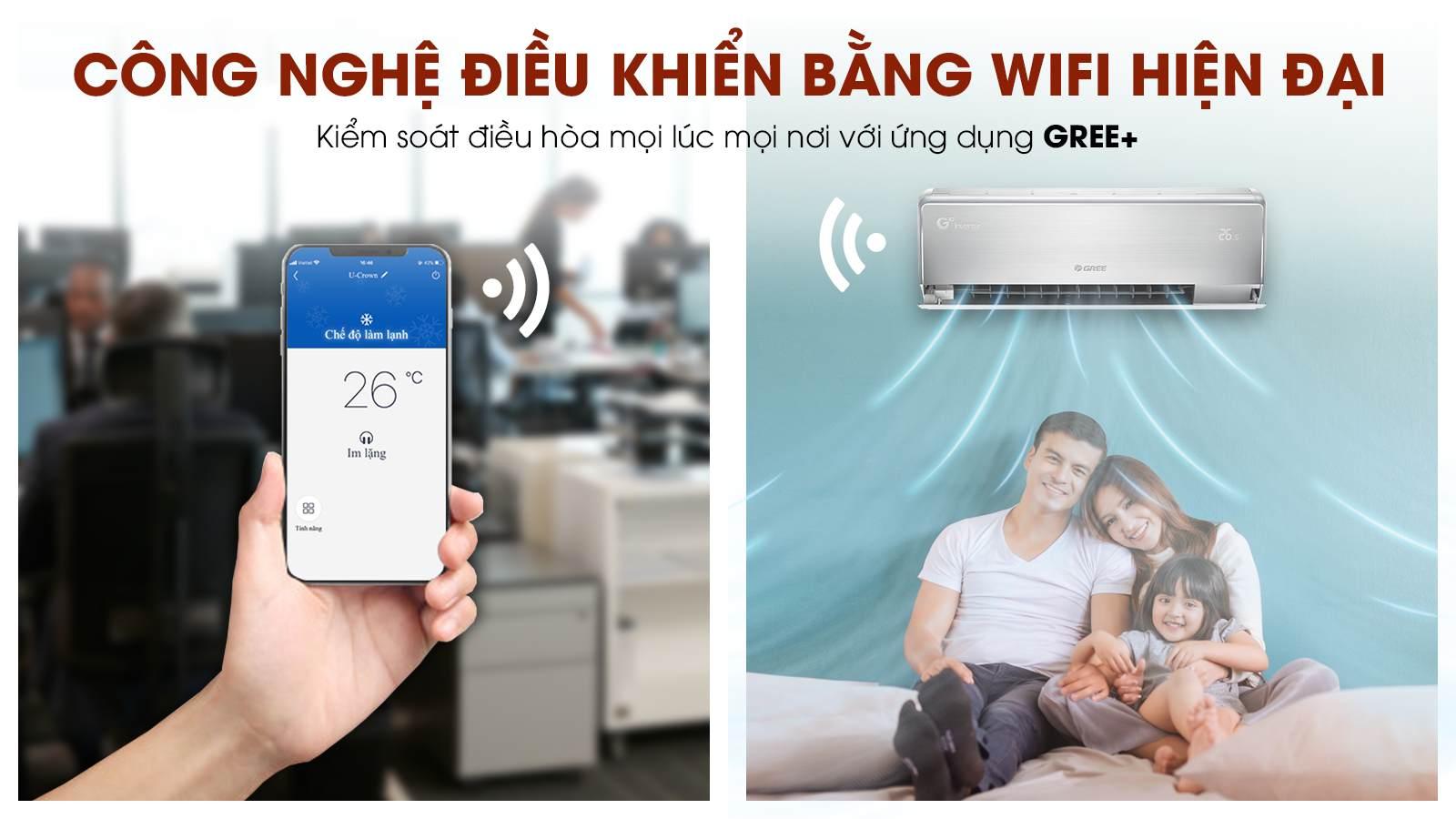 GWC09UB-S6D9A4A, kết nối Wifi