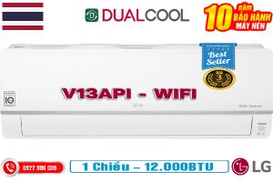Điều hòa LG 1 chiều inverter V13API 12000BTU Wifi