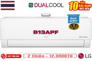 Điều hòa LG B13APF 12000BTU 2 chiều inverter dòng cao cấp
