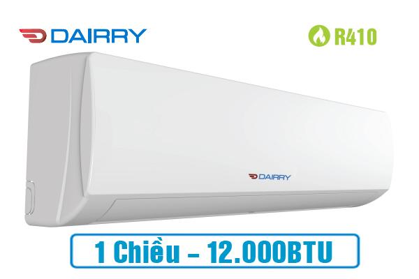 Điều hòa Dairry 12000BTU 1 chiều DR12-KC