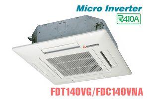 Điều hòa âm trần Mitsubishi Heavy 50.000BTU inverter 2 chiều FDT140VG/FDC140VNA