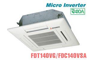 Điều hòa âm trần Misubishi Heavy 50000BTU inverter 2 chiều 3 pha FDT140VG/FDC140VSA