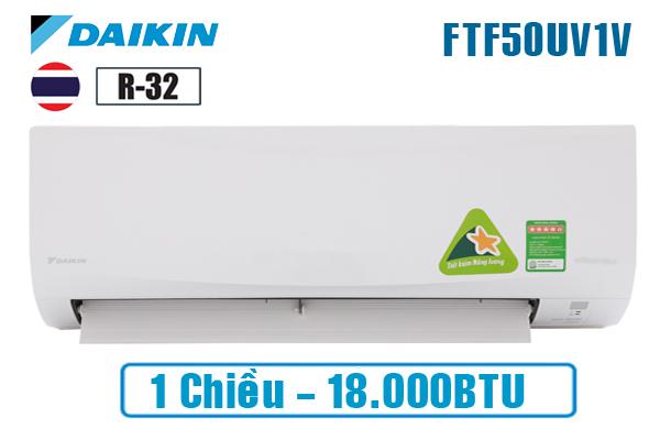 Điều hòa Daikin 18000btu 1 chiều FTC50NV1V