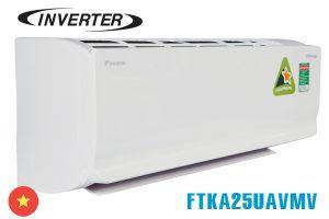Điều hòa Daikin 9000BTU 1 chiều inverter FTKA25UAVMV