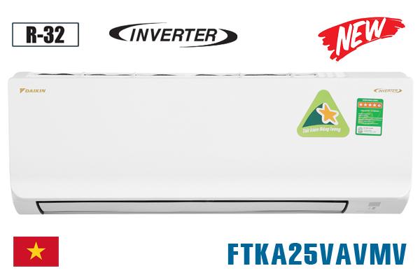 Điều hòa Daikin FTKA25VAVMV 9000BTU 1 chiều inverter