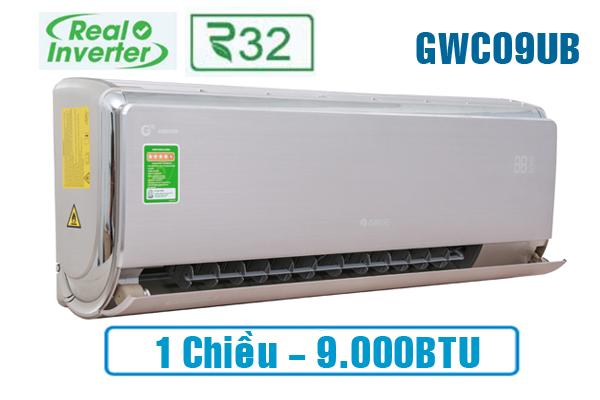 Điều hòa 1 chiều Gree inverter 9000btu GWC09UB-S6D9A4A