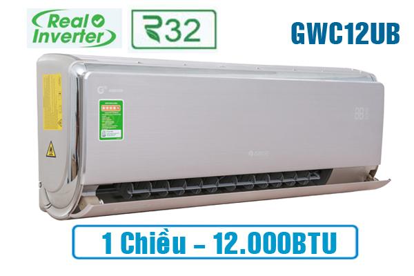 Điều hòa Gree GWC12UB-S6D9A4A 12.000BTU 1 chiều inverter