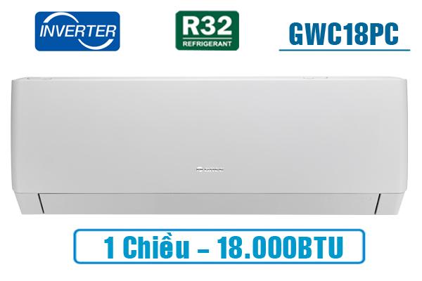 GWC18PC-K3D0P4, 18000btu
