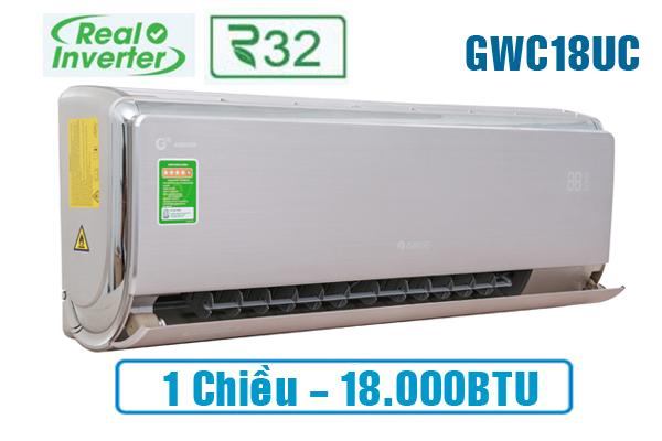 Điều hòa Gree GWC18UC-S6D9A4A 18.000BTU 1 chiều Inverter