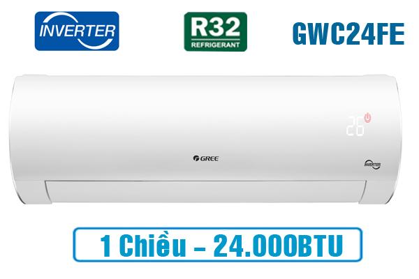 Điều hòa Gree GWC24FE-K6D0A1W 24000BTU 1 chiều inverter