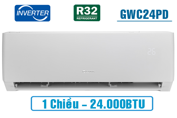 Điều hòa Gree GWC24PD-K3D0P4 24000BTU 1 chiều inverter