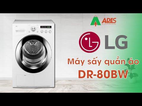 Máy sấy quần áo LG Dual Inverter 8kg DR-80BW