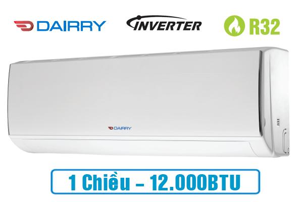 Điều hòa Dairry I-DR12KC inverter 12000btu 1 chiều