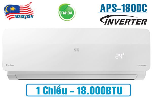 Máy lạnh Sumikura APS/APO-180DC 18.000BTU 1 chiều inverter
